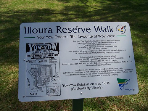 Illoura Reserve Walk Yow Yow - the favourite of Woy Woy