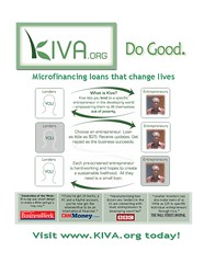 My Kiva.Org Flyer [Photo by RamonkolB] (CC BY-SA 3.0)