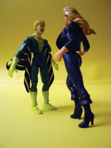 Banshee and Black Canary