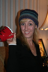 Stacey - her hat, and her mug (