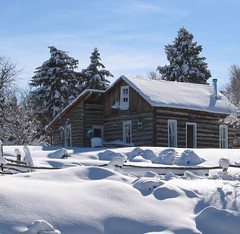 The Cabin (Sandra Leidholdt) Tags: schnee winter usa snow america us vinter log cabin colorado unitedstates hiver nieve sneeuw rustic explore american neve invierno neige inverno amricain jeffersoncounty explored sandraleidholdt leidholdt sandyleidholdt