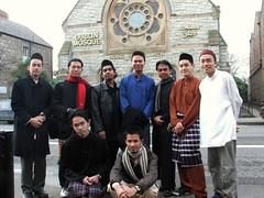 Bersama Kengkawan Di Pagi Raya Haji