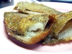 ปลาสลิดทอด