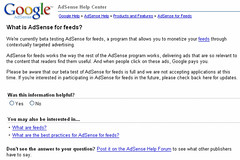 google adsense  plublicité
