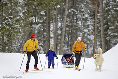Stillwater Nordic Ski -Kirsten, Reid, Elise and Chase (Thorcast) Tags: family winter usa ski kids forest montana skiing mr nordic whitefish sled crosscountryskiing crosscountryski stillwaterstateforest stillwaterlodge