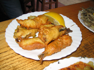 Beignets de sardines