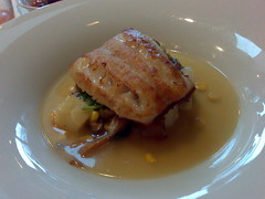 Ling Cod at Raincity Grill New Year's Day Brunch - Roland N80i in Vancouver 045
