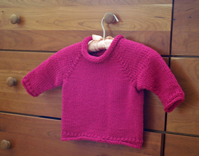 karalyns fuschia sweater