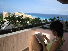 Reading Tuesdays with Morrie in Mexico