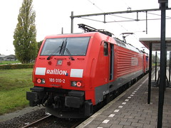 Test Train (giedje2200loc) Tags: railroad test train metro tram trains special lightrail railways railfan trein spoorwegen treinen railfanning