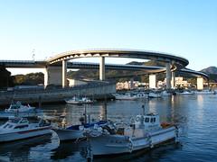 A silly bridge (overoften) Tags: bridge japan  pointless kumamoto kyushu  amakusa   wasteofmoney ushibuka  50club