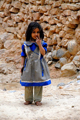 Beautiful Little Moroccan Girl (Dave Schreier) Tags: girl hair bravo village dress best kasbah helluva abigfave abigfav anawesomeshot impressedbeauty mococco