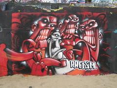 """Racism"" - Odisie (Tatty Seaside Town) Tags: graffiti brighton graf racism blackrock odisie odisy tattyseasidetown january2007"