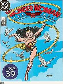 Wonder Woman Stamp