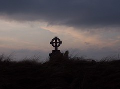 Celtic cross in Belmullet, Co. Mayo