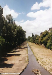 Bursting with life, the river flowing through Sofia