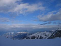 Kaprun ski resort (SilverHorse) Tags: travel winter sky snow mountains austria europe kaprun kitzsteinhorn