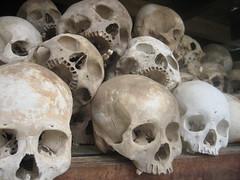 Stacked Skulls