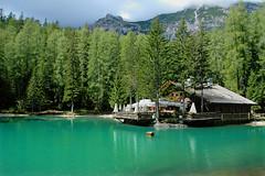 Ghedina Lake - Cortina - (papa'rocket) Tags: italy lake mountains verde green cortina lago italia greenlake montagna hdr 1000 dolomites dolomiti lagoverde 1000v nikonstunninggallery ghedina ghedinalake