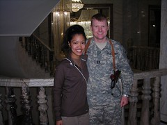 JVB and Palace pics (It's Michelle Malkin) Tags: hot army justice military air iraq michelle bryan baghdad preston dagger troops malkin brigade fob
