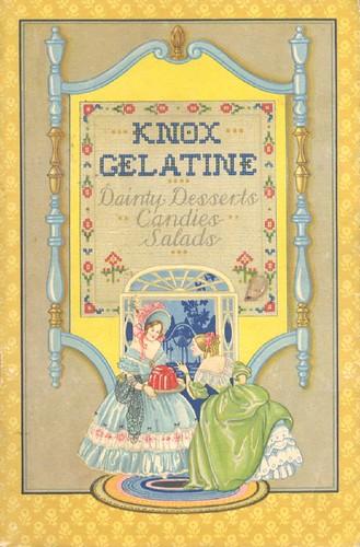 Knox Gelatine Dainty Desserts, 1929