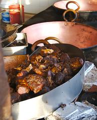 Pork at Jaime's in Arandas