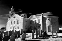 St George's (Joe Dunckley) Tags: uk england bw monochrome architecture portland churches dorset weston redfilter georgianarchitecture stgeorgeschurch