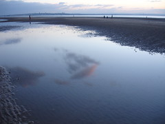 Dusk at Crosby Beach (mr7958) Tags: crosby anthonygormley anotherplace
