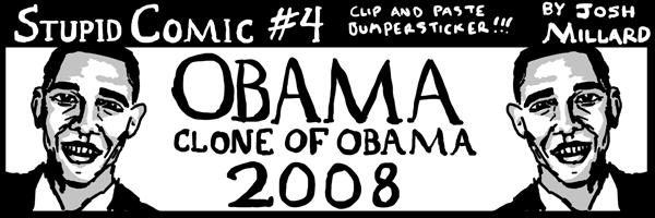 obama / clone of obama 2008