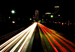 storrow drive (shoothead) Tags: city longexposure cars topv111 boston night buildings lights canon20d commuters bostonist storrowdrive bostonatnight canonef24105mmf4lisusm shoothead automaticbuffalo