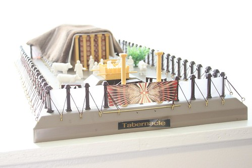 Model of Moses Tabernacle