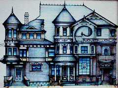Pearl Street Victoriana (artist's sketch) (MidiMacMan) Tags: desktop houses homes wallpaper house home architecture modern illustration buildings concrete artist queenanne background steel victorian structures denver historic download mansion metropolitan capitolhill denvercolorado digitalimaging downtowndenver midimacman stegeman fauxtography americanartist denverarchitecture denvercoloradousa americancities johnathanjstegeman midimacroman capitolhilldenver johnathanjosephstegeman johnathanstegeman denverhistoric architectureofdenver arisocratsofcapitolhill