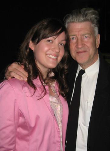 Mindy and David Lynch