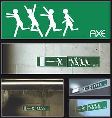 Anuncio Axe: Mujeres corriendo tras Axe (sergio-monge) Tags: advertising ad anuncio axe lynx campaña