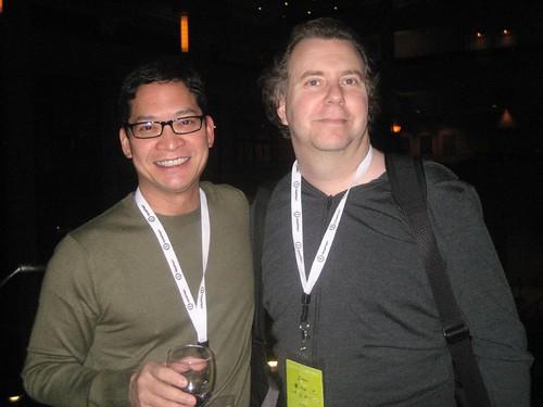 Mixpo's Glenn Pingul & Andy Abramson
