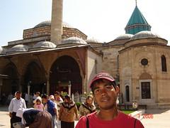Di Perkarangan Mevlana Museum, Konya, Turkey