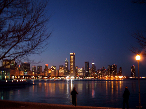 Chicago Skyline - Chicago Bears Support