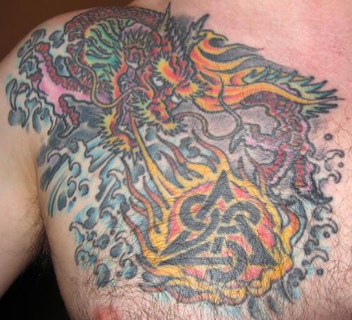Work done by Steve of Irezumi Tattoo in Glasgow