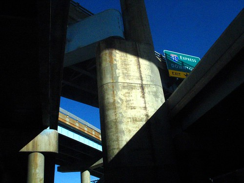 I-96 Overpass, Southfield Freeway, Michigan