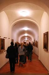 Walking through the Vasarian Corridor