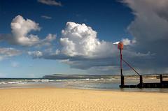 In memory.... (~Glen B~) Tags: uk summer england art beach sand nikond70 cleveland northsea groyne teesside redcar groynes tamron28300mm bbok p1f1 ccc7postcardshots satelliteportfolio redbubble:id=2536751inmemoryof