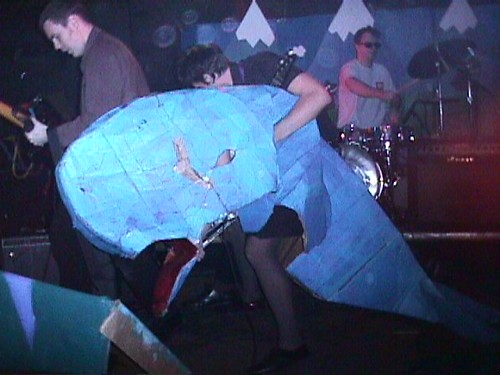 Whale at Simple Machines Records Finale Party, 1998