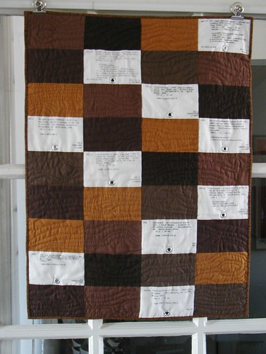 Card Catalog quilt finished