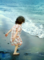 Sea (macieklew) Tags: sea summer sun playing beach wet water girl happy kid holidays waves child play joy happiness creativecommons helluva aplusphoto wowiekazowie diamondclassphotographer