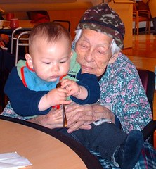 diego and gggrandma