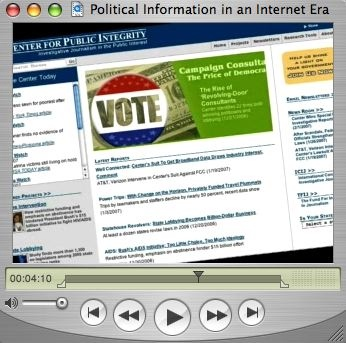 Political Information in an Internet Era
