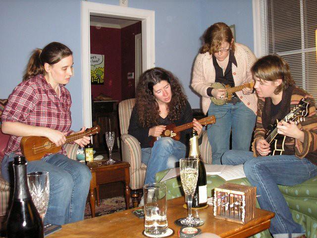 ukulele night