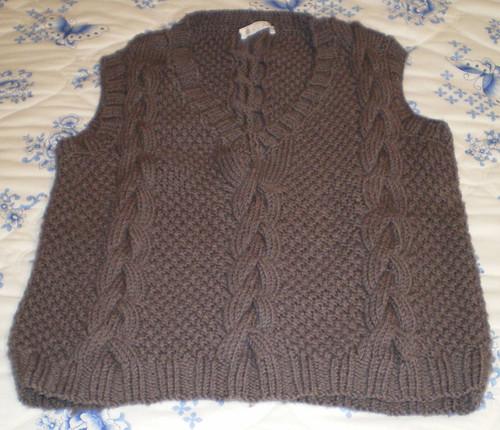 Magpie Truffle vest