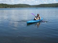 IMG_1800 (pilkster) Tags: lake boat kayak narrabeen