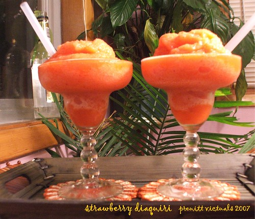 strawberry daiquiri easy recpe
